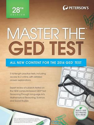 Master the Ged 2014 By Peterson's (COR)